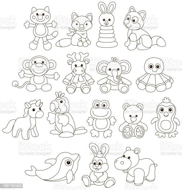 Collection of amusing colorful toy animals vector id1097262002?b=1&k=6&m=1097262002&s=612x612&h=hjpq1dbevcn 0qqd6glsh071khpudicy6qfkjbmppe8=