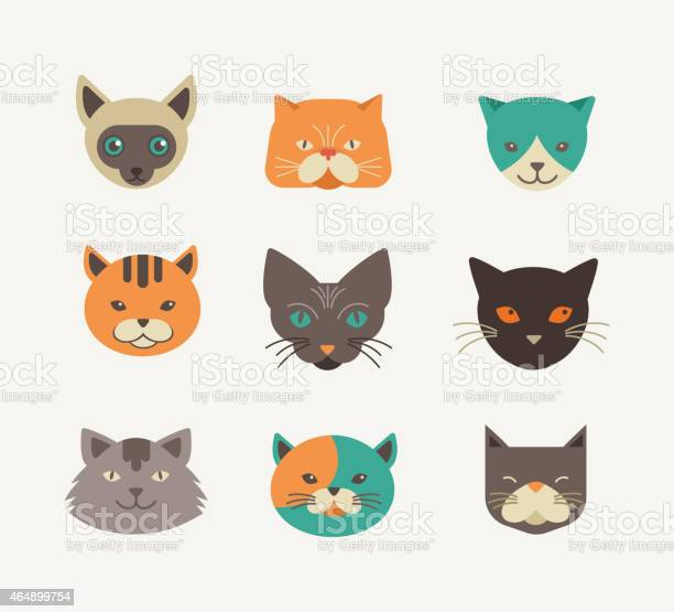 Collection of cat vector icons and illustrations vector id464899754?b=1&k=6&m=464899754&s=612x612&h=ozk5f0mznhrsmtp1zy1gh3iuf qklyfy9y1wg2jovnq=