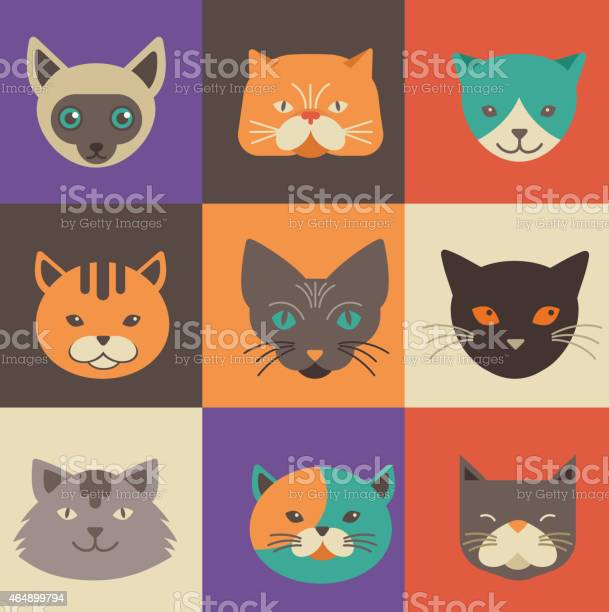 Collection of cat vector icons and illustrations vector id464899794?b=1&k=6&m=464899794&s=612x612&h=fwgletu8u46smewn7ylxmmtmy0i7rhpouj20puljkos=