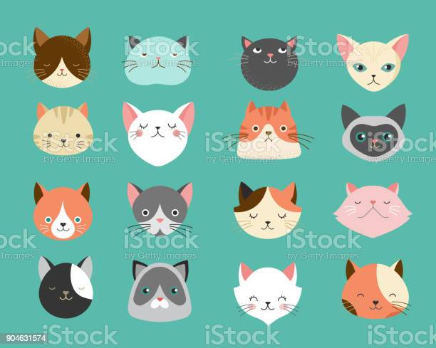 Collection of cats illustrations vector id904631574?b=1&k=6&m=904631574&s=612x612&h=w6 tg6jv6zwdbzpknvk2o9ze3wf3yxegerjzv9cxoae=
