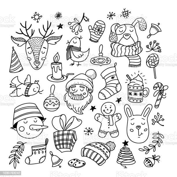 Collection of chrismas doodles characters things vector id1030763242?b=1&k=6&m=1030763242&s=612x612&h=y7mdm1f7xzz4rkg5nzfecfauunsu1ynla9iq7gvgud0=