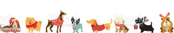 Collection of christmas dogs merry christmas illustrations of cute vector id1034217214?b=1&k=6&m=1034217214&s=612x612&h=9fi3y2tlztesu tykwjse wq3fjzhqow7z 99idwq98=