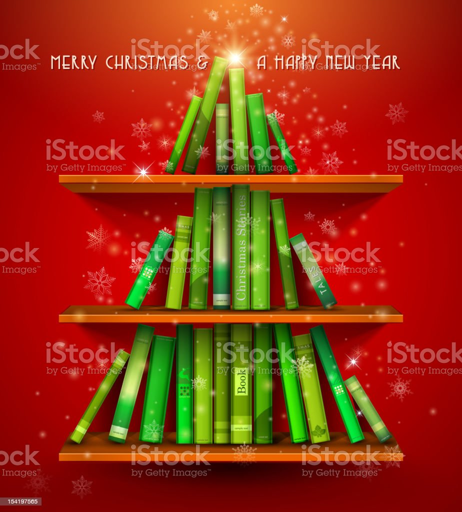 'Collection of Christmas Stories'. vector art illustration