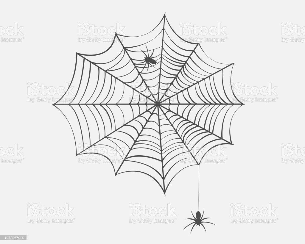 Collection De Toile Daraignée Isolé Fond Transparent Set De Toile Daraignée Spider Web Halloween Vector Eps10 Vecteurs Libres De Droits Et Plus