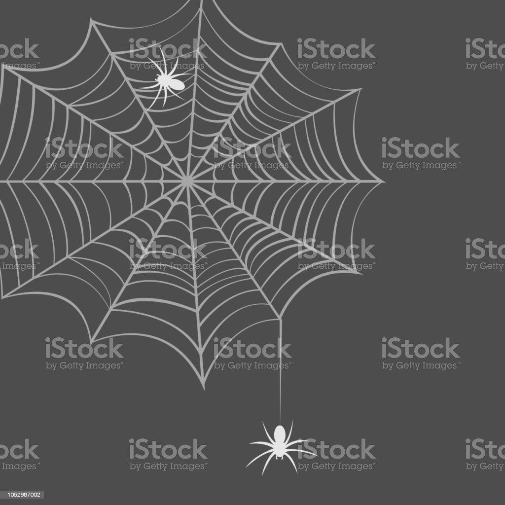 Samling av spindelnät, isolerade transparent bakgrund. Spindelnät ställa spider web halloween. Vector EPS10 vektorkonstillustration