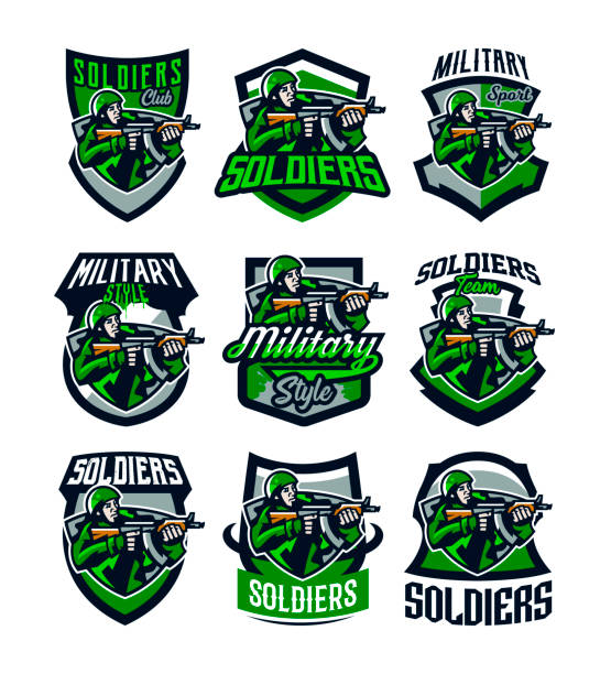 Royalty Free Army Navy Game Clip Art Vector Images Illustrations