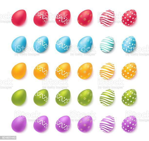 Collection of colourful easter eggs isolated on white vector id924801440?b=1&k=6&m=924801440&s=612x612&h=3gqyyrj1lx eizidmig zhsejpx ahqwm88del33yp8=