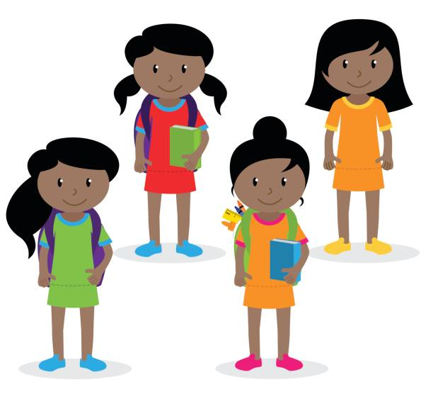 Royalty Free Middle School Kids Clip Art, Vector Images ...