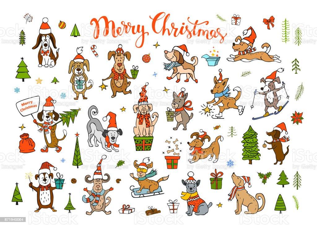 Sammlung Von Suss Lustig Weihnachten Und Frohes Neues Jahr 2018 Gruss