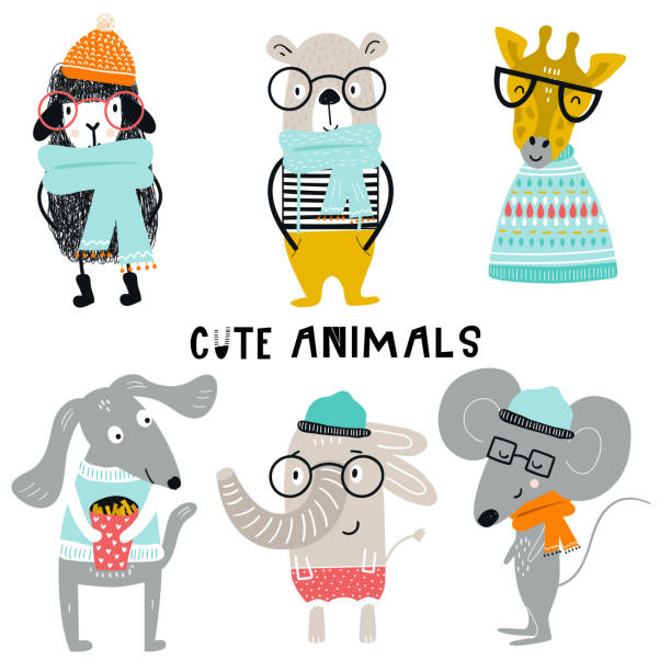 Best Dog Glasses Illustrations, Royalty-Free Vector ...