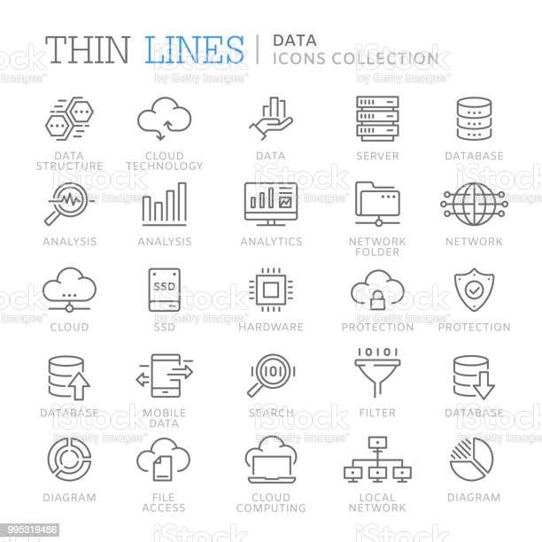 Collection of data line icons vector id995319486?b=1&k=6&m=995319486&s=612x612&h=4kw9eunzlw drxojw7effcl 98i6nzsziyei9ukydpc=