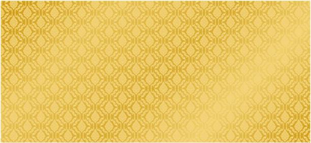 bildbanksillustrationer, clip art samt tecknat material och ikoner med insamling av design thai mönster guld bakgrund vektor - thailand