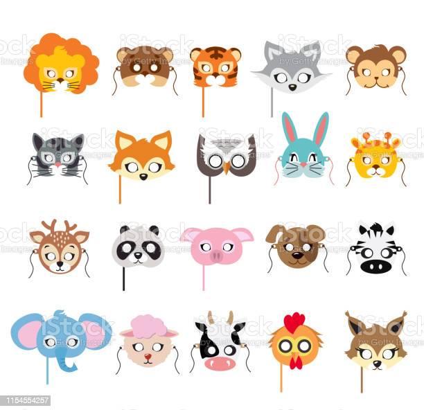 Collection of different animal masks on faces vector id1154554257?b=1&k=6&m=1154554257&s=612x612&h=sry8jhyfwpudp9hayohdlmegbpl ttgursa2sym2gqq=