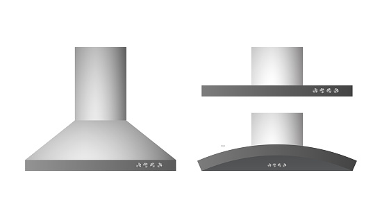 Collection of different range hood.