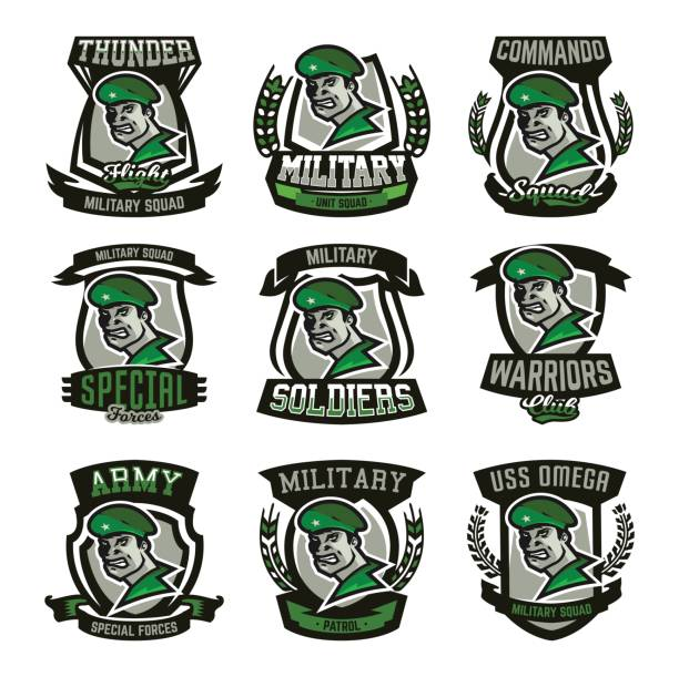 Best Army Hat Illustrations, Royalty-Free Vector Graphics