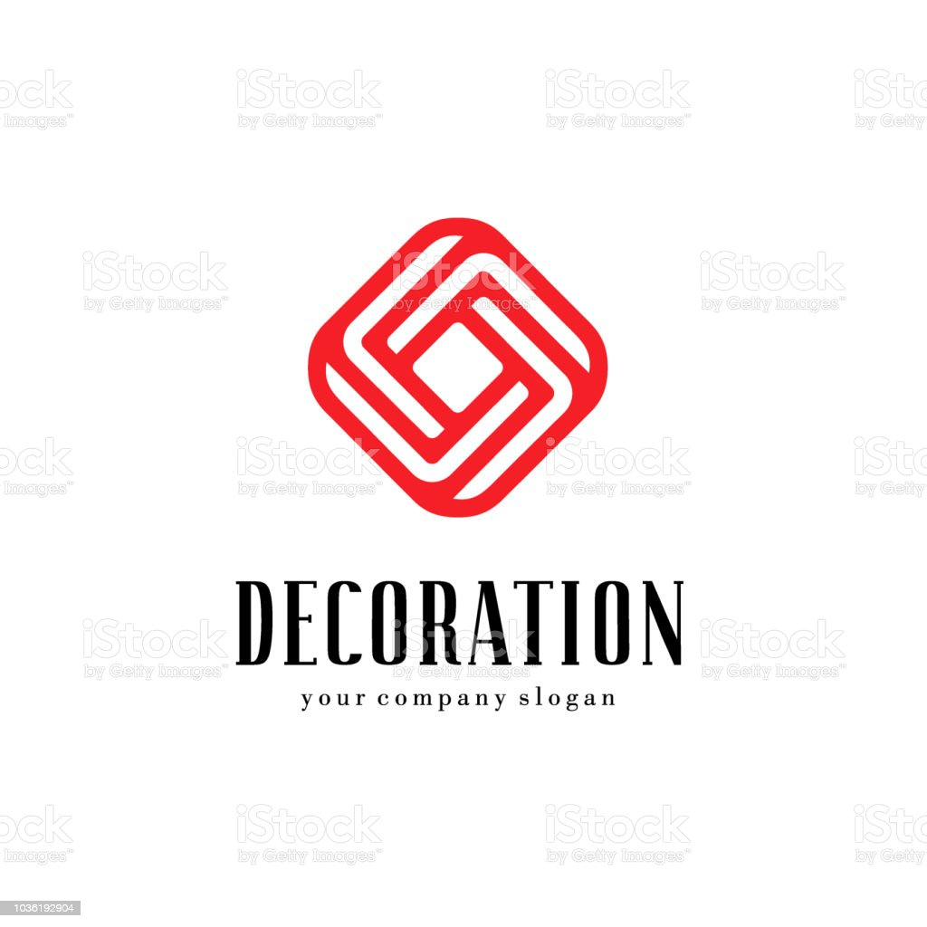 A Collection Of Emblems For Interior Furniture Shops And Home