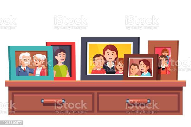 Collection of family generations relatives photos in picture frames vector id1018810872?b=1&k=6&m=1018810872&s=612x612&h=mvzx9je0sipmvhnugayqnop2zn8q5t3dtqji0na9mrk=