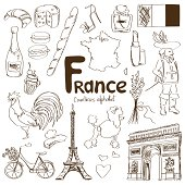 Collection of France icons