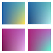 Collection of gradient and backgrounds for design vector illustration concept