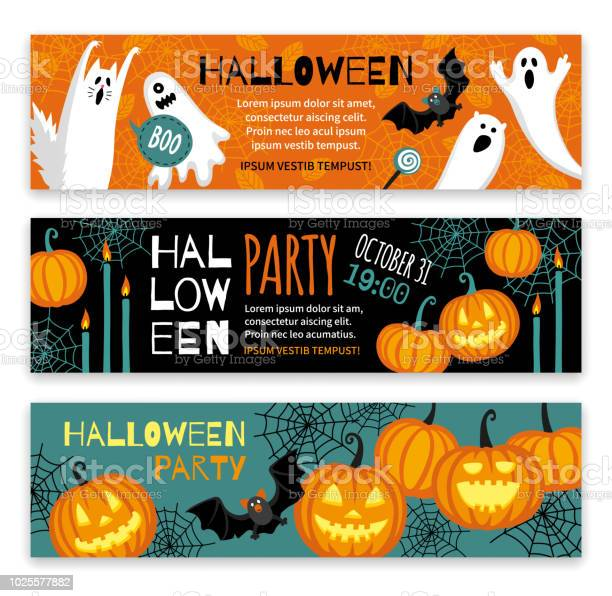 Collection of halloween banner templates vector id1025577882?b=1&k=6&m=1025577882&s=612x612&h=h607c vnt28rd5zbspnkrblmfpg4dlo9pxhiy0xajry=
