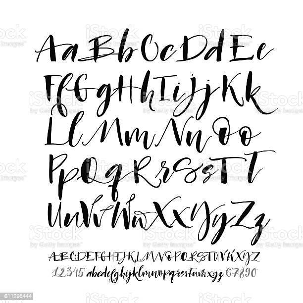 Cursive Alphabet Free Vector Art - (173 Free Downloads)