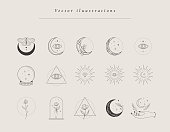 istock Collection of hand drawn designs, templates 1227604639