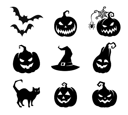 Collection of Happy Halloween Icons