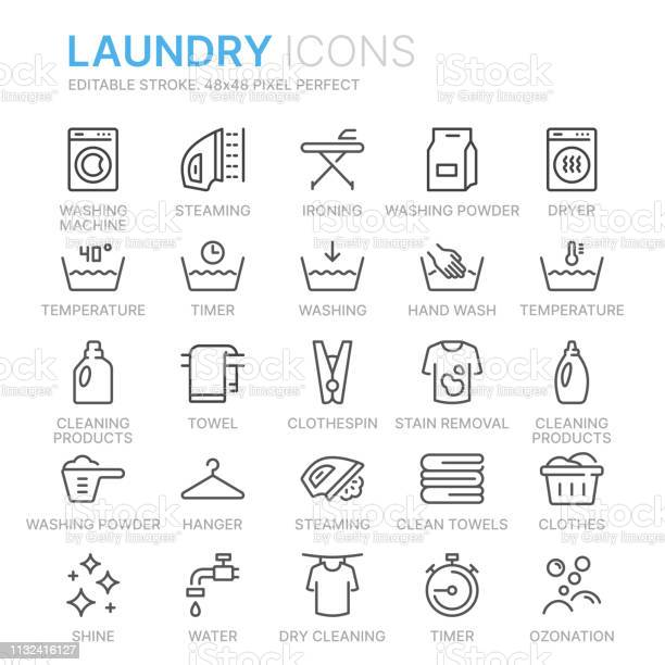 Collection of laundry line icons 48x48 pixel perfect editable stroke vector id1132416127?b=1&k=6&m=1132416127&s=612x612&h=xoavizmbeh0xxlof lk9n6nhtey64ry vdcokb3oawa=