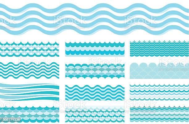 Collection of marine waves sea wavy ocean art water design vector id505171336?b=1&k=6&m=505171336&s=612x612&h=kv phnswfwpzb2lqwjivmejx9mz0bqok42pgz35exgy=