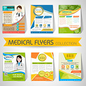 Collection of Medical Flyers, Templates and Banners.