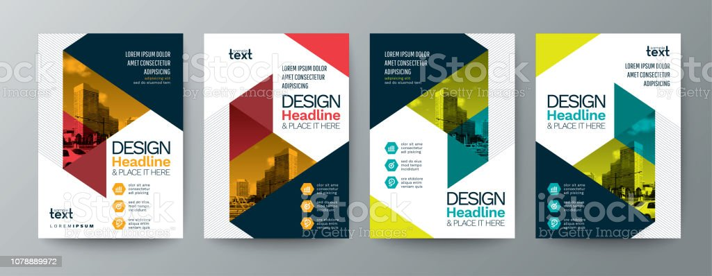 Collection Of Modern Design Poster Flyer Brochure Cover