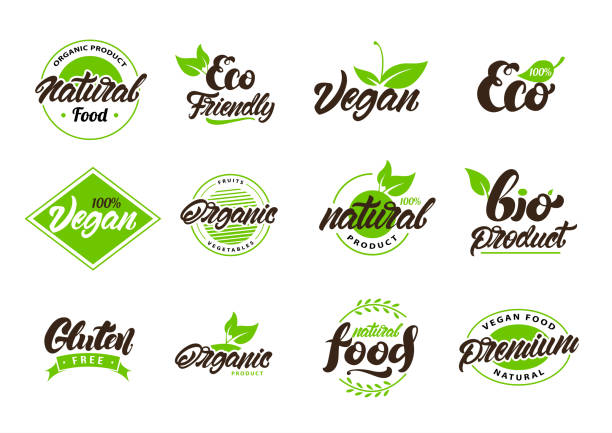 Collection of natural or eco labels , s. Vegan, Bio, gluten. Vector illustration design.Collection of natural or eco labels , s. Vegan, Bio, gluten. Vector illustration design. Collection of natural or eco labels , s. Vegan, Bio, gluten. Vector illustration design. natural condition stock illustrations