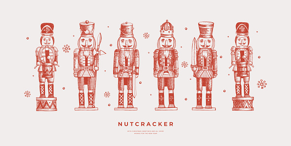 Collection of Nutcracker soldiers.