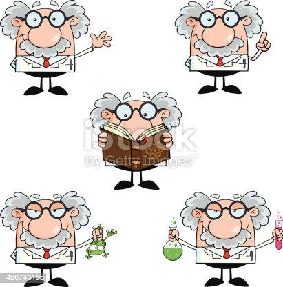 istock Collection of Professor - 5 486746155