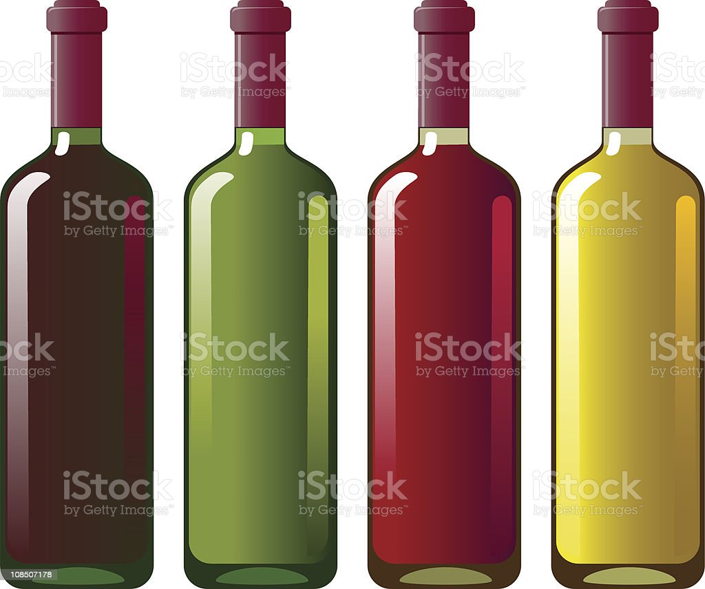 Collection of red and white wine royalty-free collection of red and white wine stock vector art & more images of alcohol