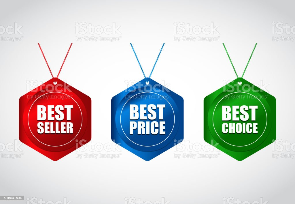 Collection Of Special Colored Sale Tag Design Price Tag With