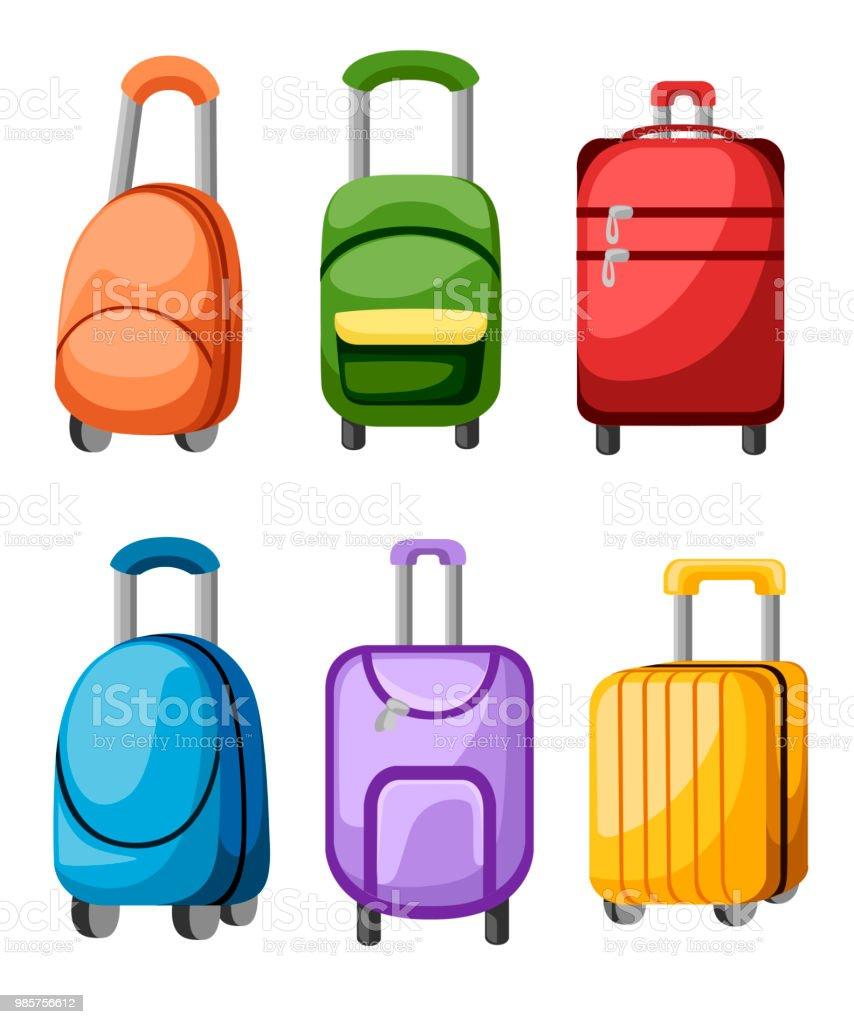 Collection Bagages Sac Différents Colorés Et De Valise À 3LRAc4jS5q