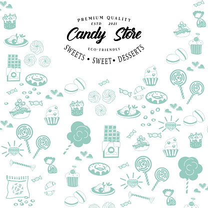 collection of sweets