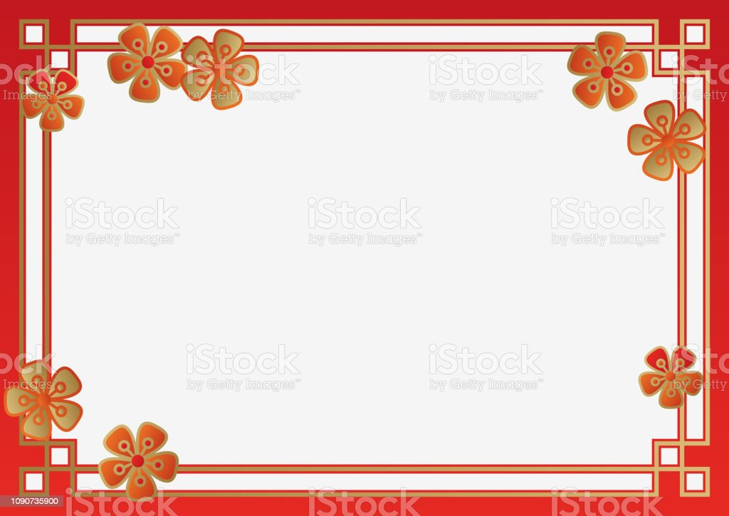 Collection Of The Background Of The Chinese New Year Traditional