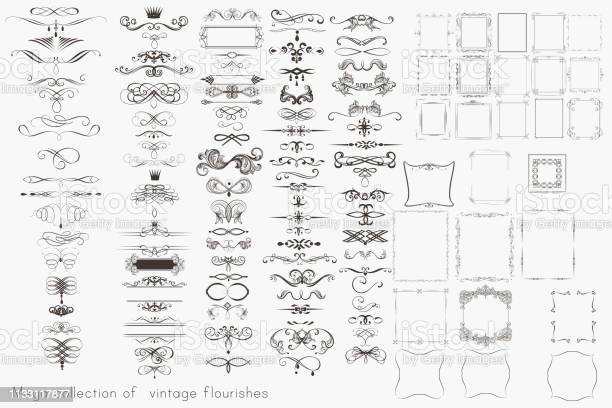 Collection of vector calligraphic elements flourishes and page mega vector id1133117877?b=1&k=6&m=1133117877&s=612x612&h=f hlrrumhjvrhlrayofclzkgmzhq0rbynfn7f3cgyn4=