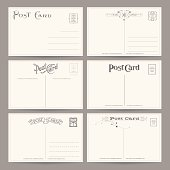 Collection of Vector Postcard Designs