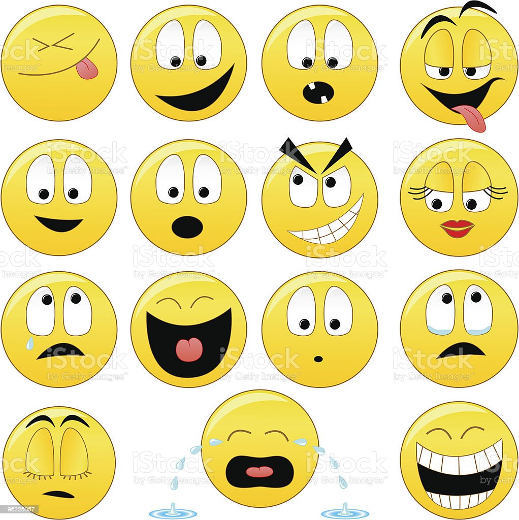 Collection Of Vector Smiles Stock Vector Art Amp More Images Of Anthropomorphic Smiley Face