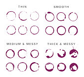 Collection of Vector Wine Marks