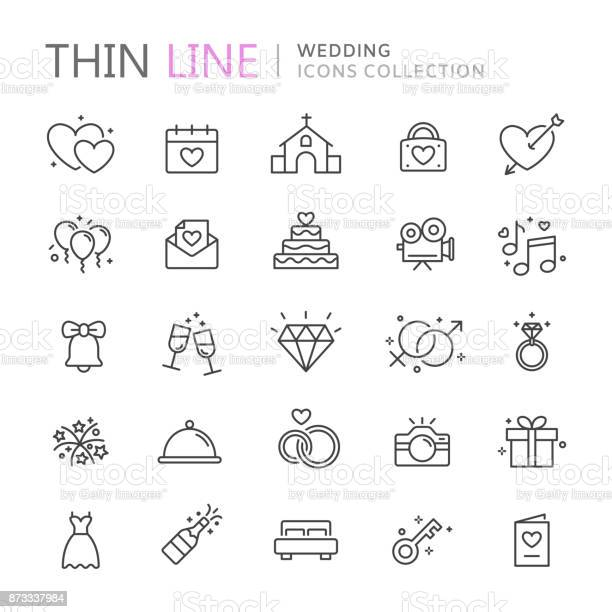 Collection of wedding thin line icons vector id873337984?b=1&k=6&m=873337984&s=612x612&h=ckaq1zio6nvgdez83bhai4xthts5weqt w70k6v6l7y=