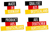 collection seals Made in Germany