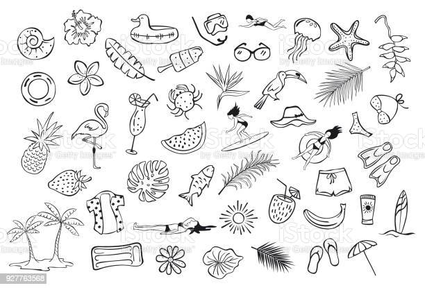 Free beach drawing Images, Pictures, and Royalty-Free