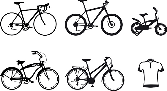 collection-bicycle-silhouette