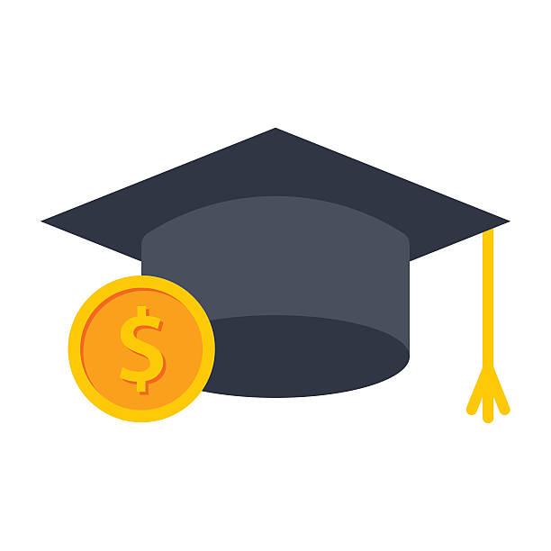 ilustraciones, imágenes clip art, dibujos animados e iconos de stock de college de plan de ahorros - estudiar