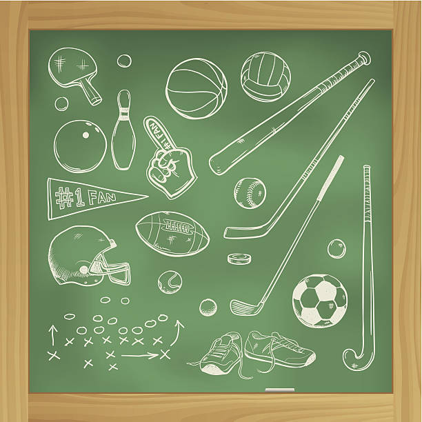us college sport background - paddle sports stock illustrations