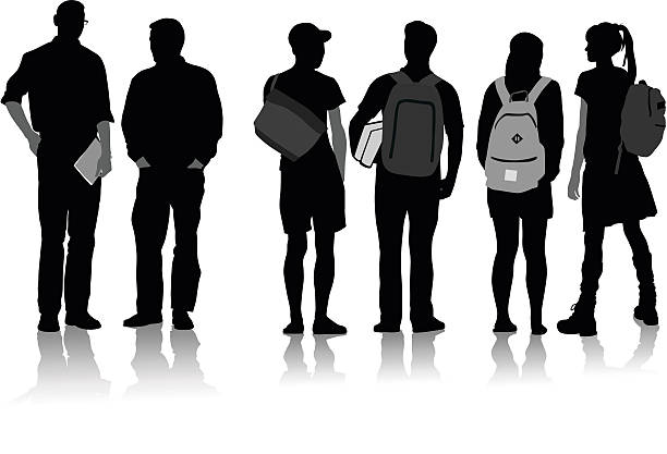 Royalty Free High School Student Clip Art, Vector Images ...